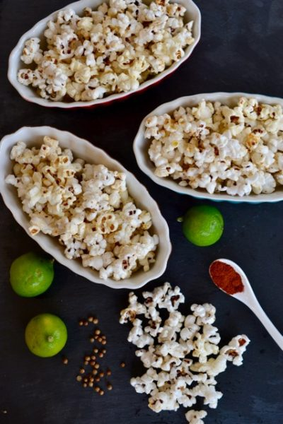 Hatch Chile Coriander Lime Popcorn