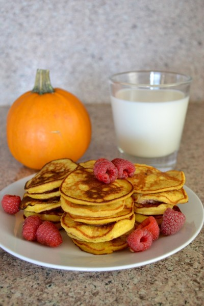 Ricotta Pumpkin Pancakes