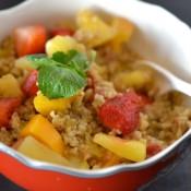 Freekeh fruit salad