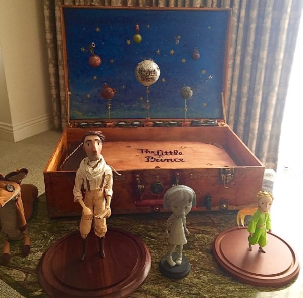 Stop-motion animation models for The Little Prince