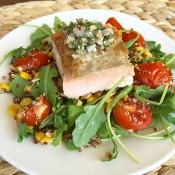 Blue Apron Seared Salmon and Salsa Verde