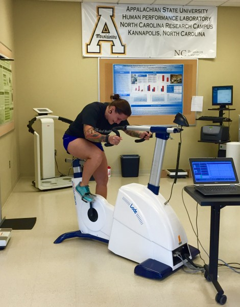 One of the exercise labs at the North Carolina Research Campus