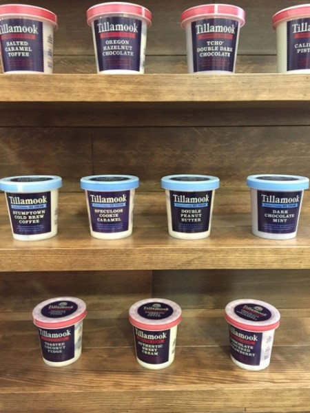 Tillamook Super-Premium Ice Creams
