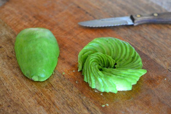 avocado roses