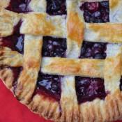 blueberry raspberry pie