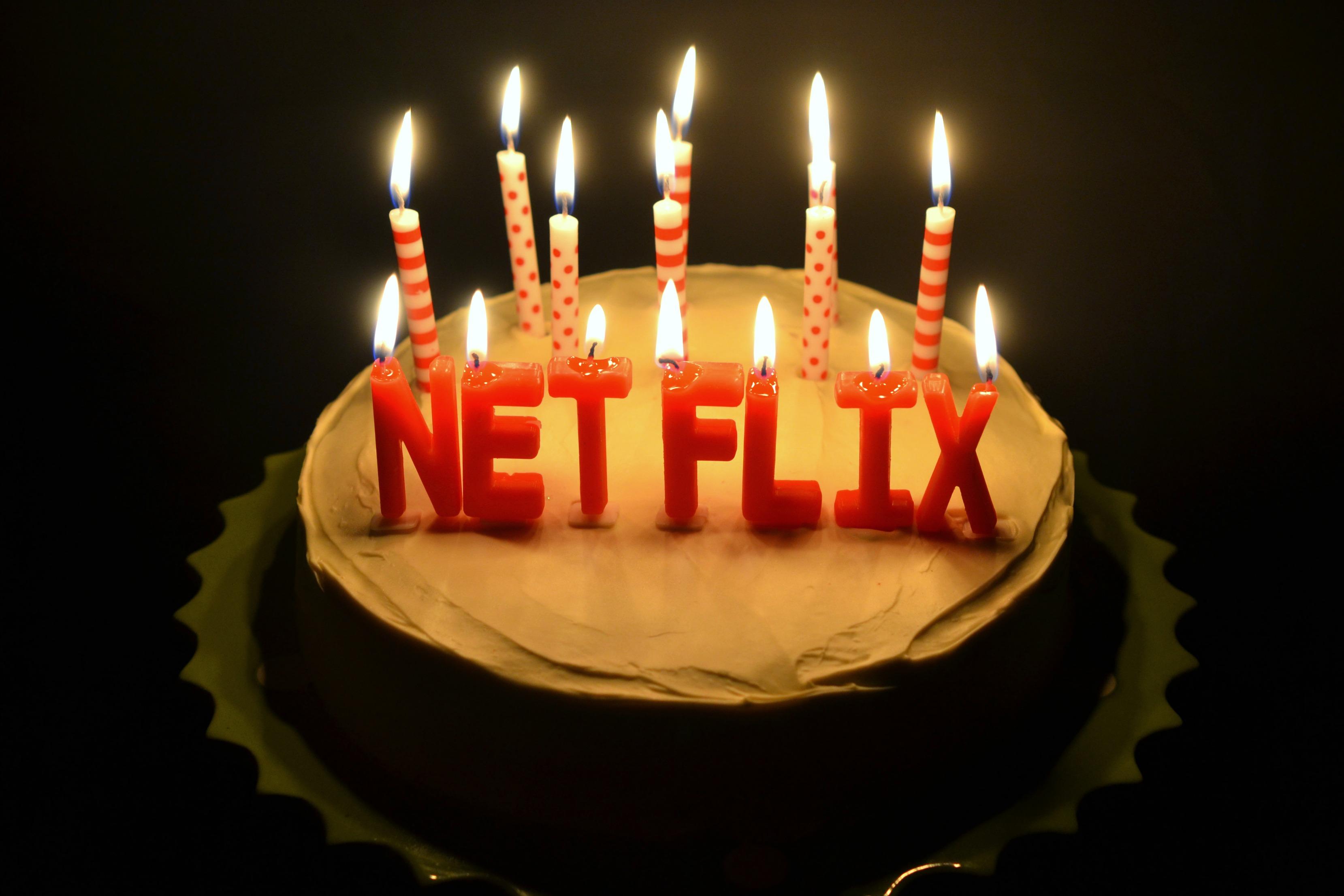 Celebrate Birthdays With Cake And Netflix Jolly Tomato