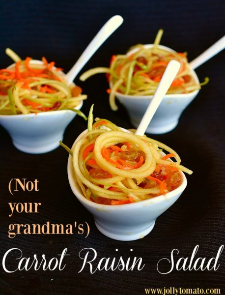 (Not your grandma's) Carrot-Raisin Salad