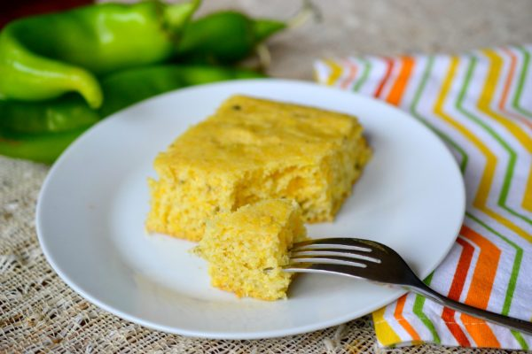 hatch chile cornbread