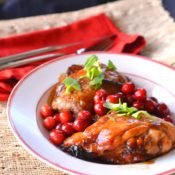 Cranberry Molasses Chicken