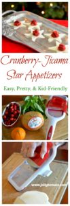 cranberry jicama appetizer