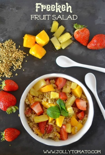 freekeh fruit salad