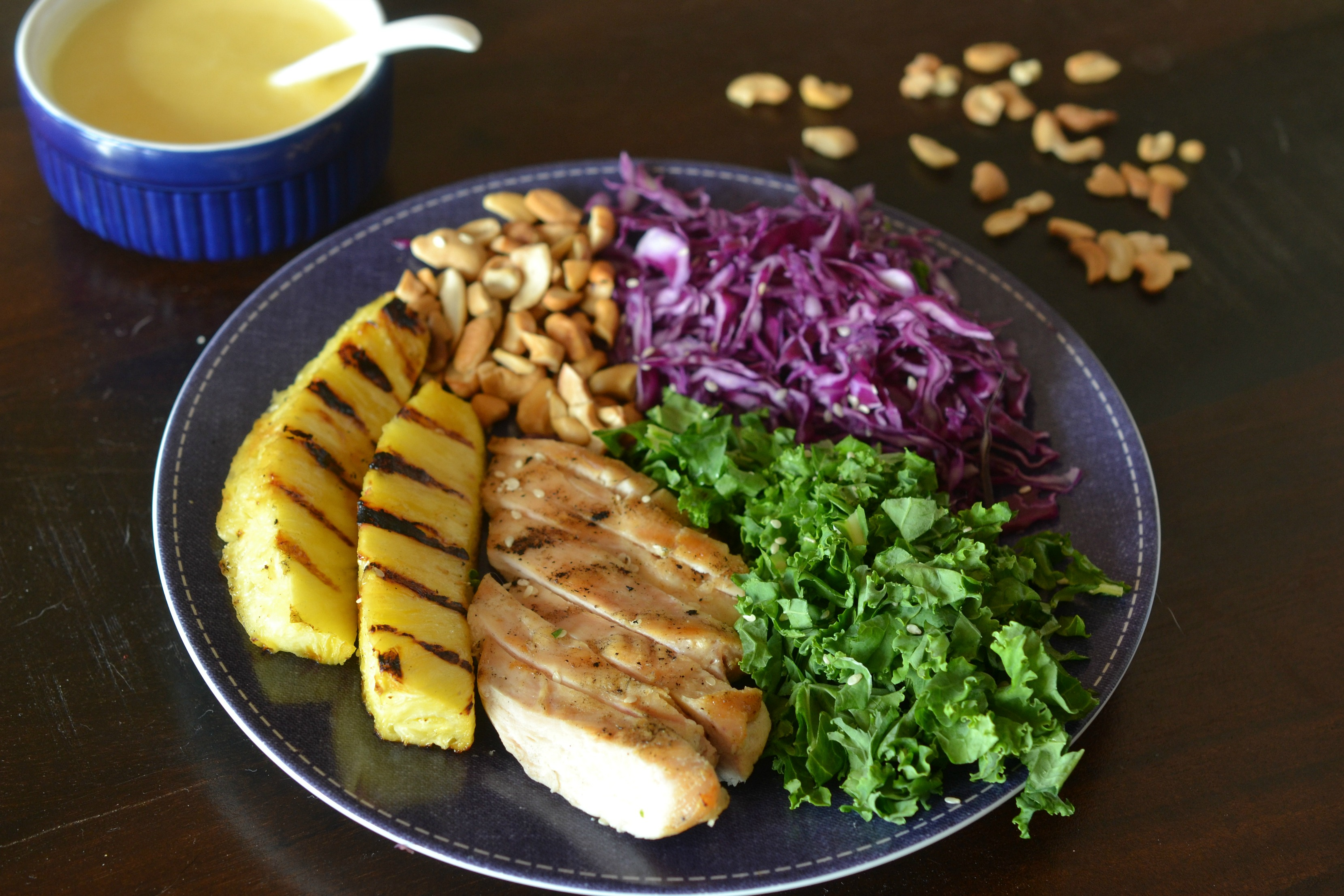 Grilled Pineapple Chicken Salad with Orange-Coconut ...