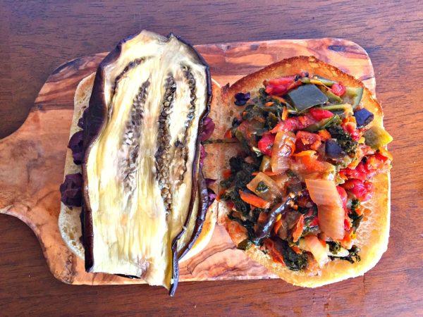 open-face-sandwich
