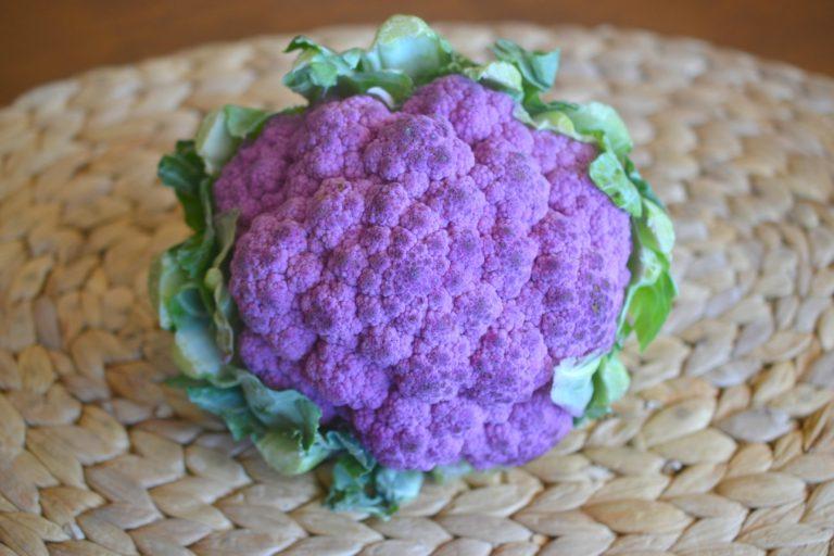 фиолетовая цветная капуста рецепты