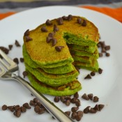 spinach mint pancakes