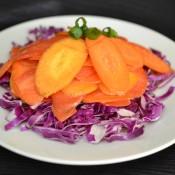 triple carrot ginger salad