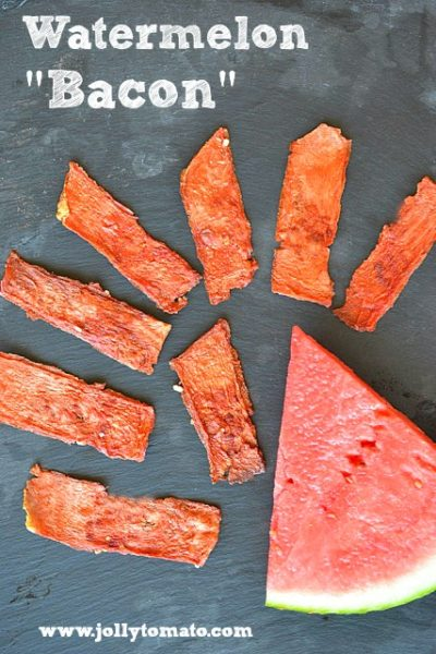 watermelon bacon