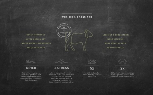 Why grass fed beef