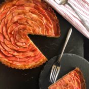 HIdden Rose Apple Tart