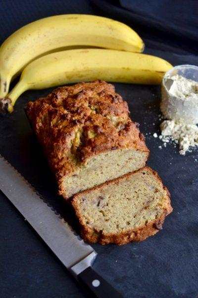 Vegan Protein Powder and Banana Bread