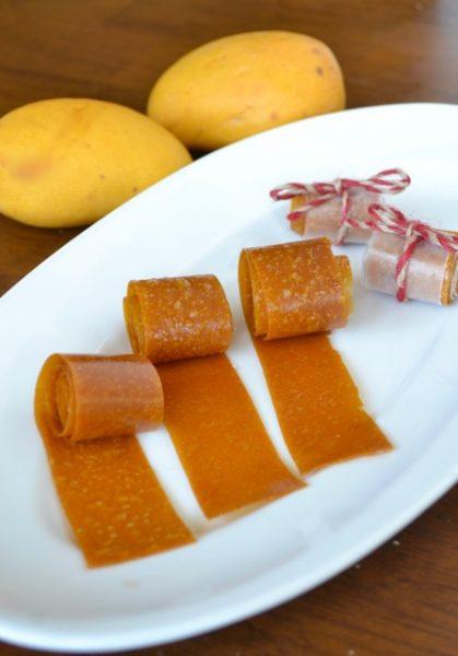 Mango Fruit Leather