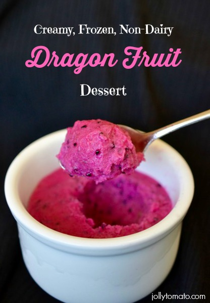 Dragon Fruit Dessert