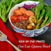 Kick-in-the-Pants Gai Lan Quinoa Bowl