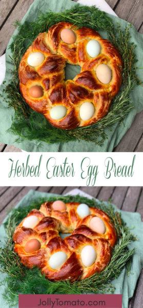 Herbed Easter Egg Bread