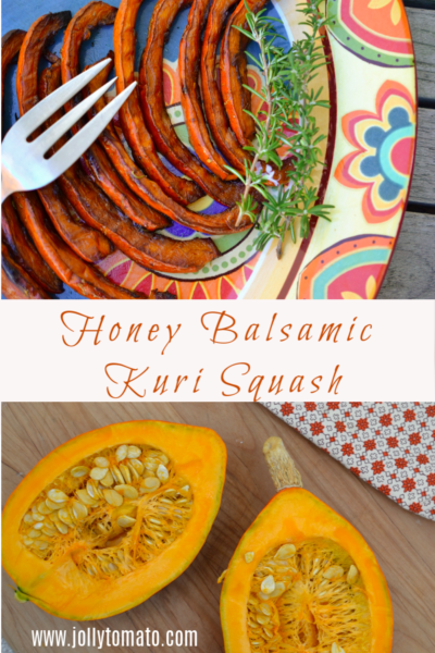 Honey Balsamic Kuri Squash