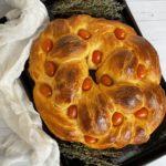 Tomato Bread Wreath