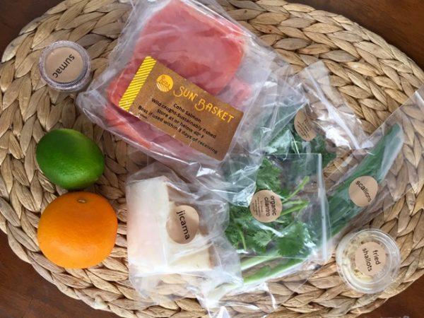 Sun Basket salmon ingredients