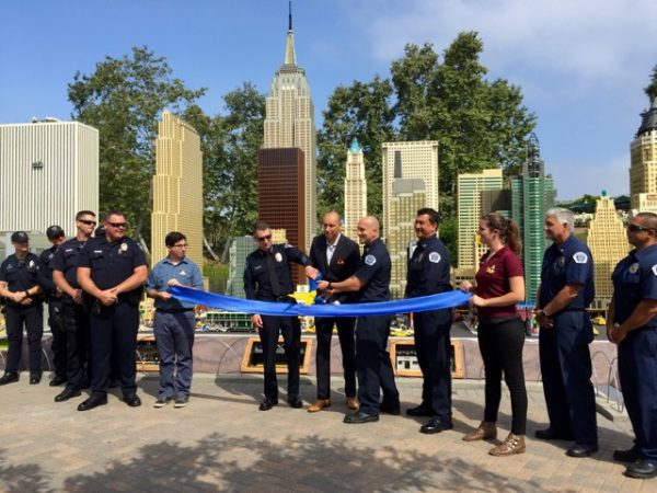 Ribbon-cutting at Miniland NYC