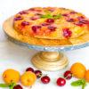 Apricot Cherry Upside Down Cake