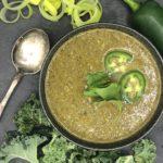 Coconut Kale Leek Soup