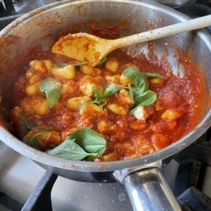 Authentic Italian Gnocchi with Tomato Sauce