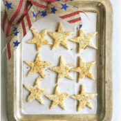 Parmesan Star Crackers