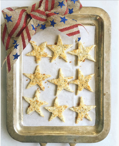 Parmesan Star Crackers