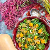 Fall Salad with Butternut Squash and Amaranth