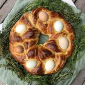Herbed Easter Egg Bread