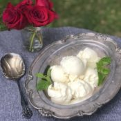 rosewater ice cream