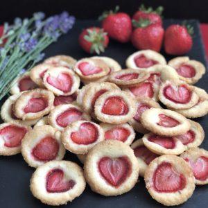 strawberry shortbread