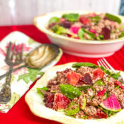 Beet Orange Quinoa Salad
