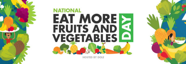 National Eat More Fruits and Vegetables Day