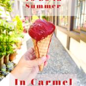 Top Ten Things to Do In Summer in Carmel