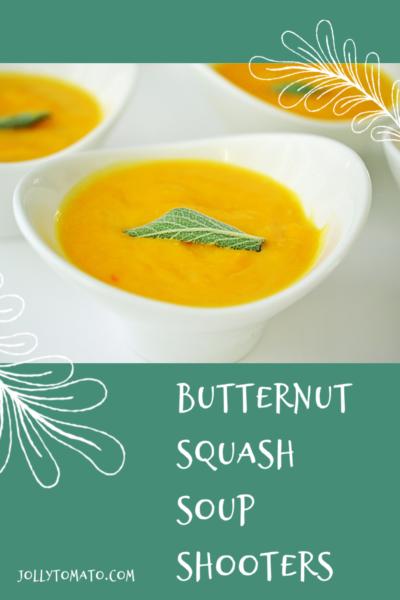 Butternut Squash Soup Shooters