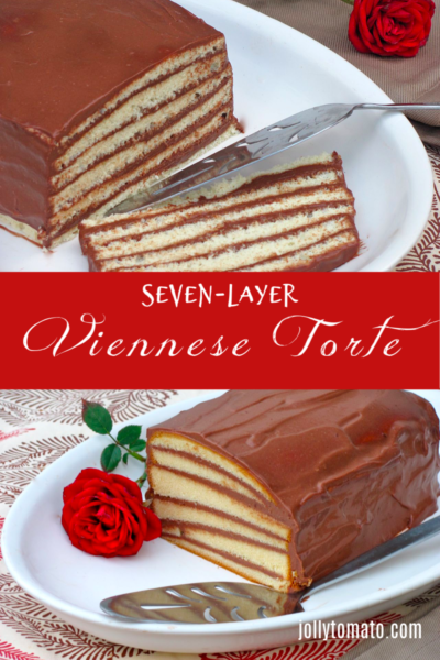 Easy Seven-Layer Viennese Torte