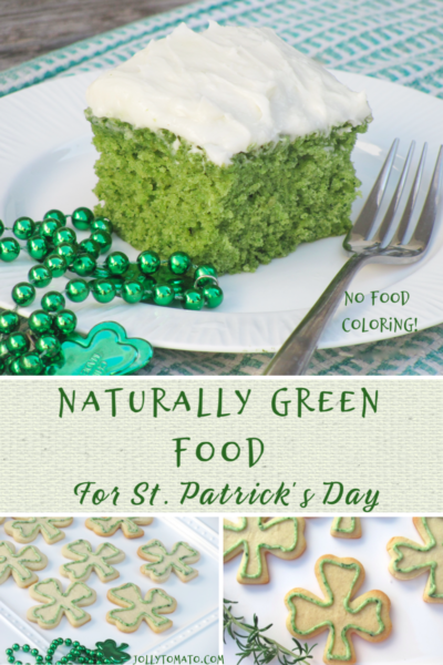 Naturally Green Food for St. Patrick's Day