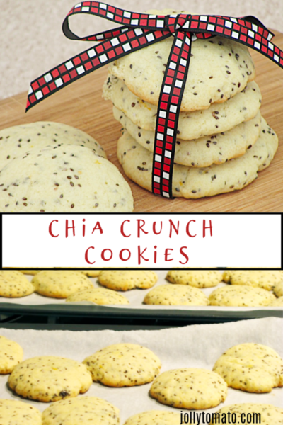Chia Crunch Cookies