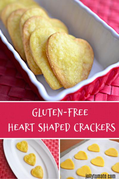 Gluten-Free Heart Shaped Crackers