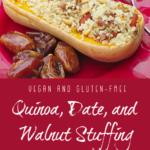 Quinoa Date Stuffing